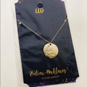 🌺 Simply Southern Zodiac Pendant Necklace   Leo